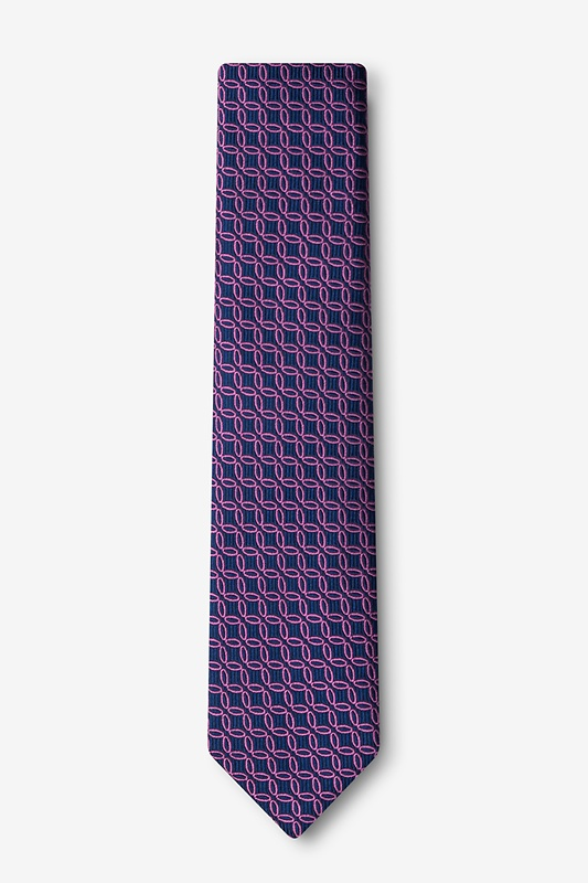 Rhodes Pink Skinny Tie Photo (1)