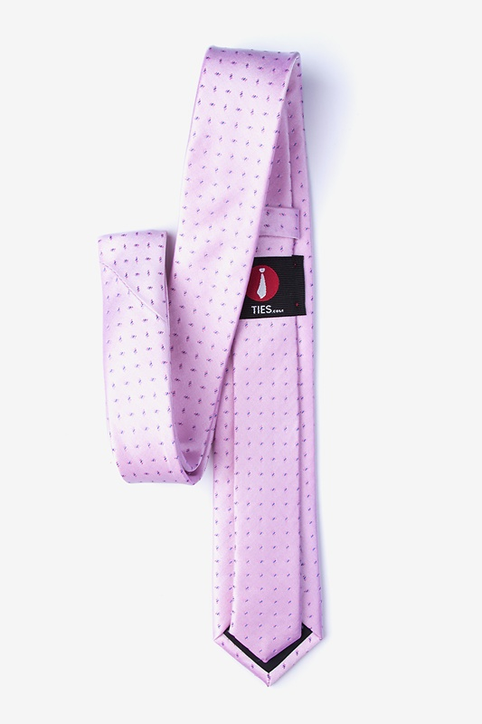 Trinity Pink Skinny Tie Photo (1)