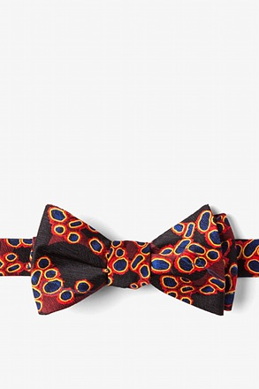 _Influenza/Immunization Port Self-Tie Bow Tie_