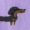 Dachshund | Weiner Dog Purple Women's Sock