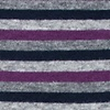 Purple Carded Cotton Alexander Sock