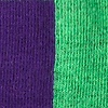 Purple Carded Cotton Fullerton Split Sock