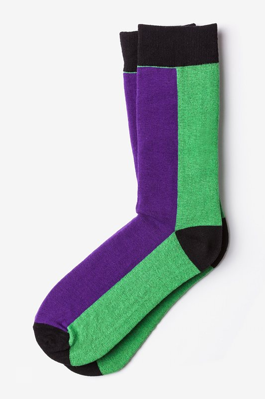 Fullerton Split Purple Sock