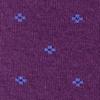 Purple Carded Cotton Newton