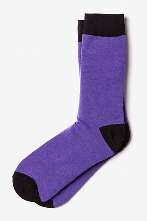 _Purple Irvine Sock_