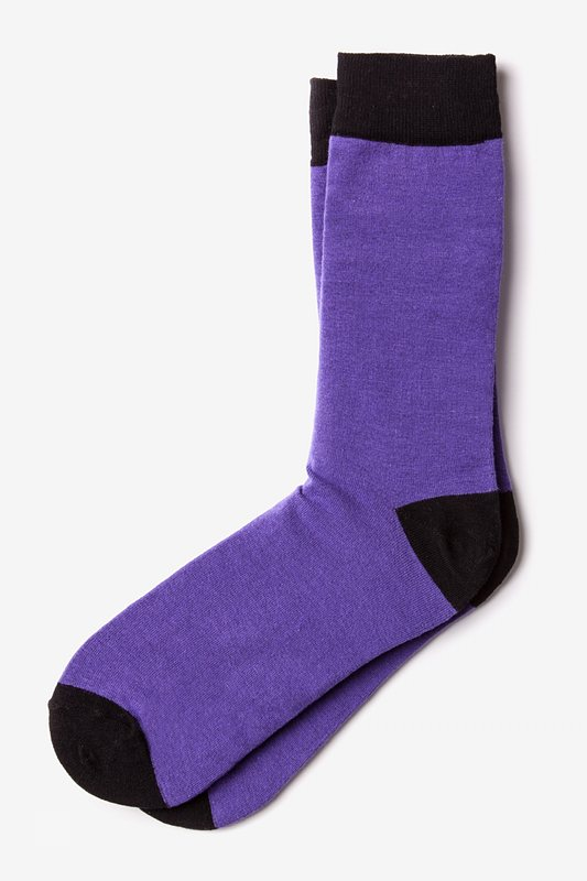 Purple Irvine Sock
