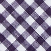 Purple Cotton Clayton Extra Long Tie