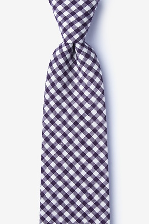 _Clayton Purple Extra Long Tie_