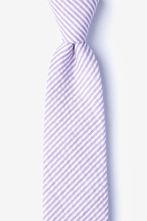 Clyde Purple Extra Long Tie