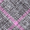 Purple Cotton Kirkland Extra Long Tie