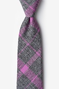 Purple Cotton Kirkland Tie