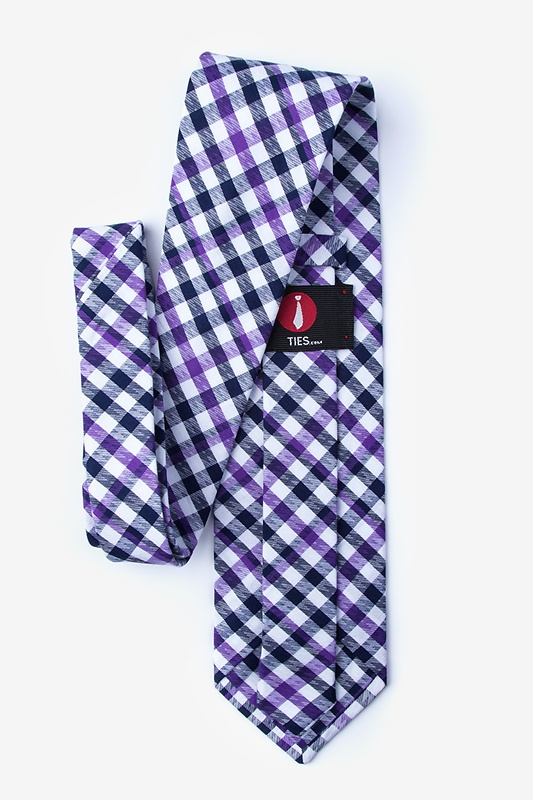 Lance Purple Extra Long Tie Photo (1)