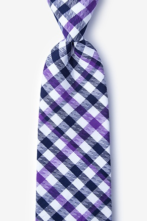 Lance Purple Extra Long Tie