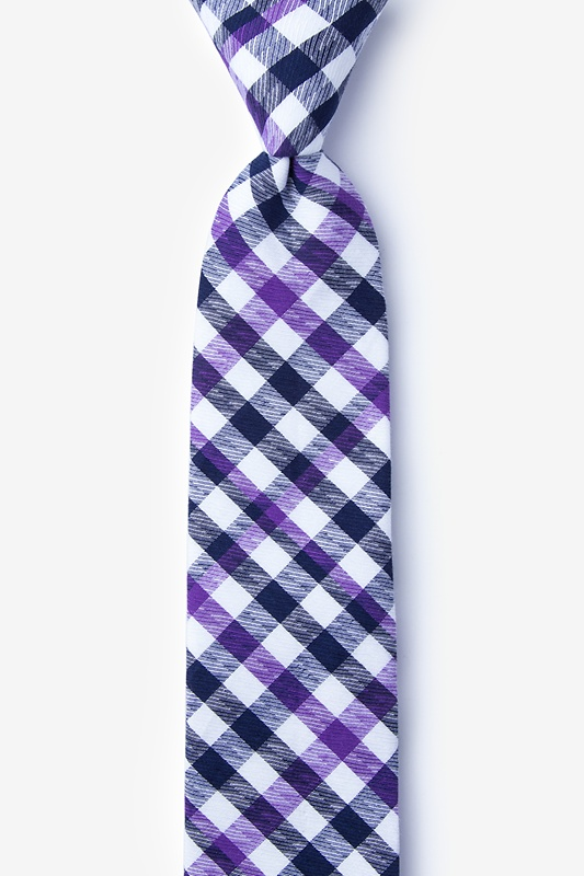 Lance Purple Skinny Tie Photo (0)