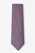 Nixon Purple Extra Long Tie Photo (1)