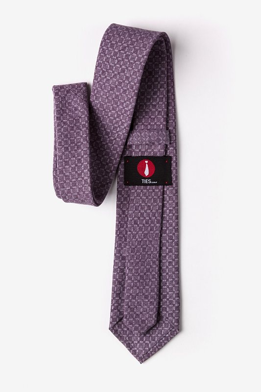 Nixon Purple Extra Long Tie Photo (2)