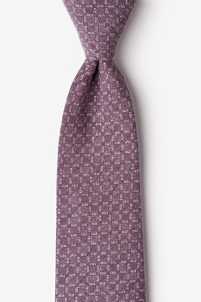 _Nixon Purple Extra Long Tie_