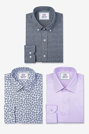 One of Each Purple Shirt Pack