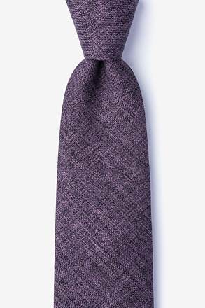 _Port Purple Extra Long Tie_