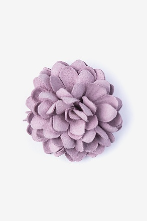 _Chrysanthemum Purple Lapel Pin_