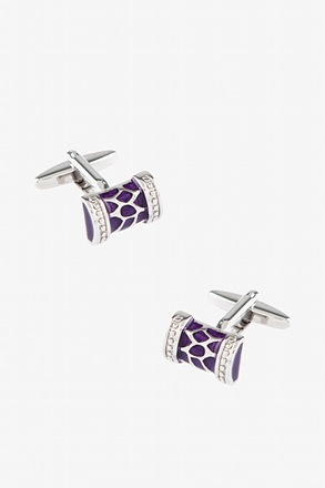 Abstract Rounded Rectangle Cufflinks