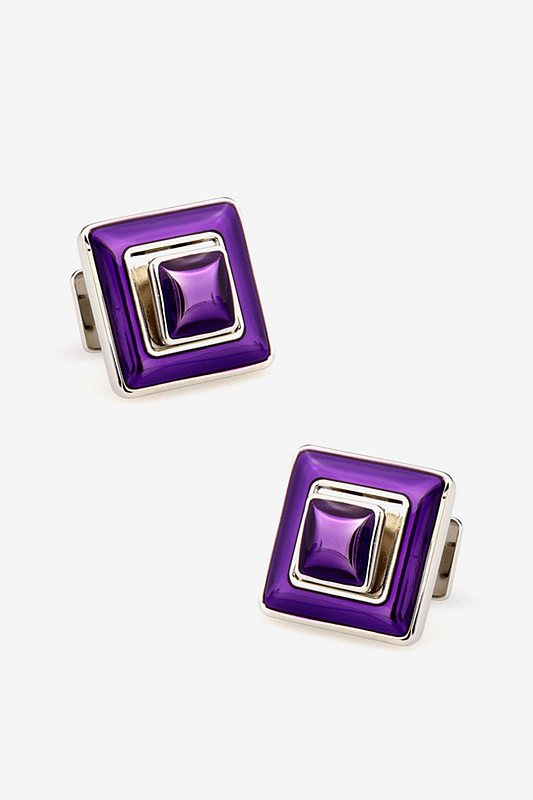 Collapsible Diamond Cufflinks