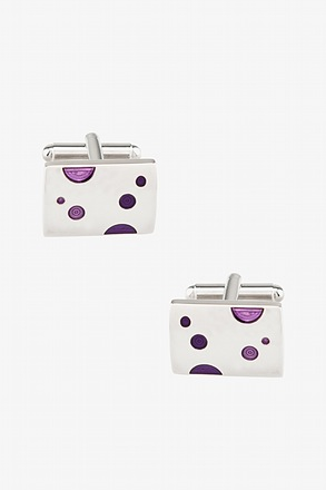 Dotted Rectangle Cufflinks