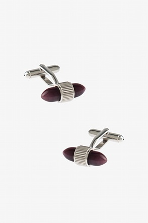 Enclosed Bean Cufflinks