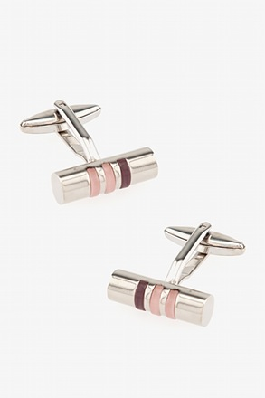 Gradient Bar Purple Cufflinks