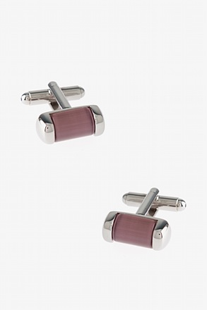 Oval Gemstone Cufflinks