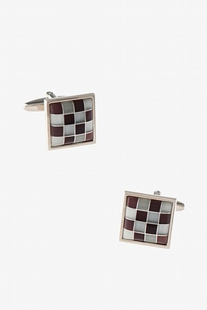 Patterned Frame Cufflinks
