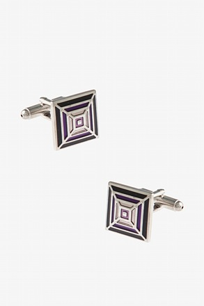 Square Cobweb Cufflinks