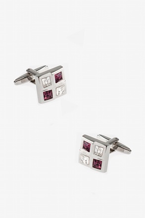 Studded Square Cufflinks