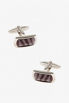 _Translucent Swirl Cufflinks_