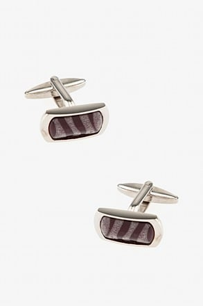 Translucent Swirl Cufflinks