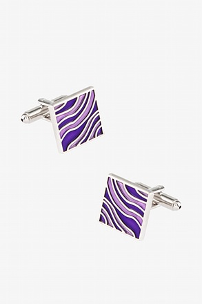 _Zebra Effect Cufflinks_