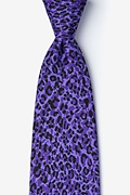 Cheetah Animal Print Tie Photo (0)