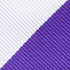 Purple Microfiber Purple & Off White Stripe