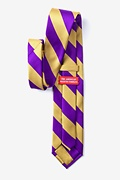Purple & Gold Stripe Tie Photo (2)