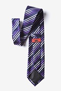 Purple Tonal Stripe Tie Photo (1)