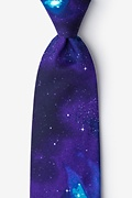 The Cosmos Purple Tie