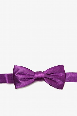 _Purple Plum Bow Tie For Boys_