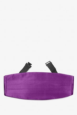 Purple Plum Cummerbund