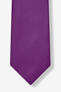 Purple Plum Extra Long Tie
