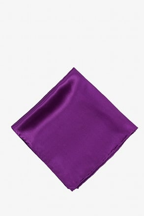 _Purple Plum Pocket Square_