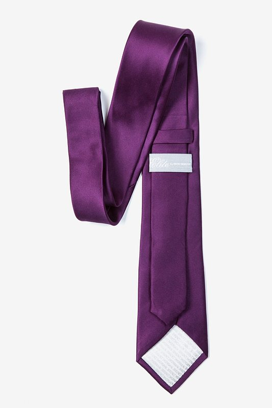 Purple Plum Tie For Boys