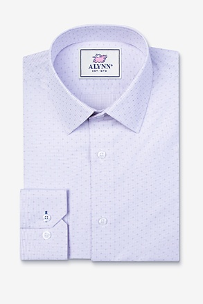 _Evan Purple Classic Fit Dress Shirt_