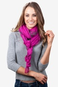 Floral Crosses Scarf by Scarves.com