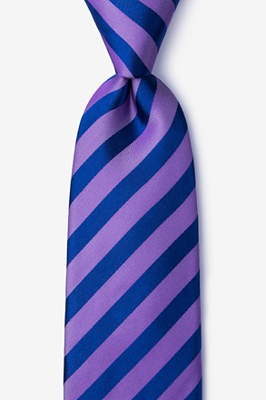 _Bandon Purple Extra Long Tie_