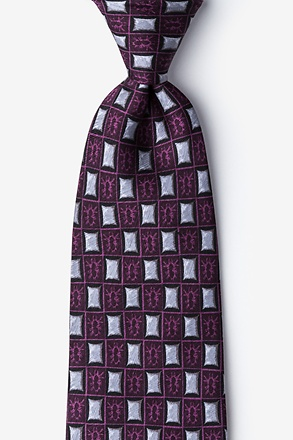 _Bed Bugs Purple Tie_